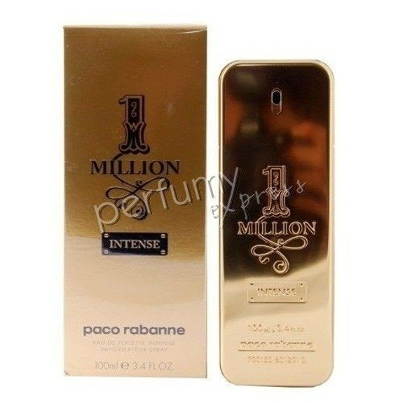paco rabanne 1 million intense woda toaletowa 100 ml zapachy m skie paco rabanne zapachy. Black Bedroom Furniture Sets. Home Design Ideas