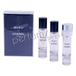 Bleu de Chanel woda toaletowa 3x20 ml travel spray refils