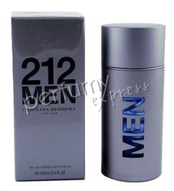 Carolina Herrera 212 Men woda toaletowa 100 ml