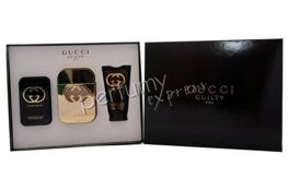Gucci Guilty Eau komplet (75 ml EDT & 100 ml BL & 50 ml SG)