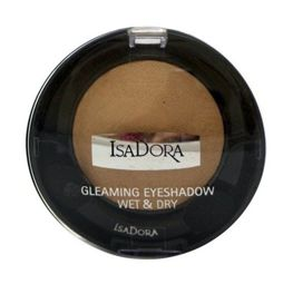 IsaDora Gleaming Eyeshadow Wet & Dry cień do powiek 81 Gold 2,1g