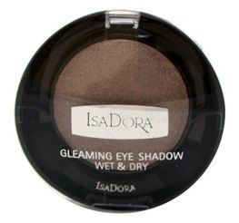 IsaDora Gleaming Eyeshadow Wet & Dry cień do powiek 83 Icy Khaki 2,1g