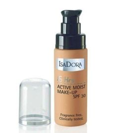 IsaDora Podkład 16 Hrs Active Moist 33 Honey Beige 30ml