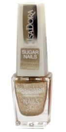 IsaDora Sugar Nails lakier do paznokci 116 Gold Crush 6 ml