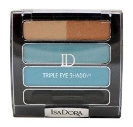 IsaDora Triple Eye Shadow 85 Paradise Blue 6,6g