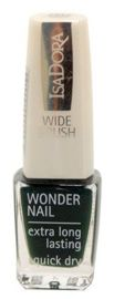 IsaDora Wonder Nail supertrwały lakier do paznokci 707 Hunter Green 6 ml