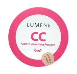 Lumene Color Corecting Powder - Puder CC matujący Light/Medium 10g