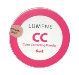 Lumene Color Corecting Powder - Puder CC matujący Medium/Deep 10g