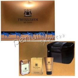 Trussardi My Land pour Homme komplet (100 ml EDT & 100 ml SG)