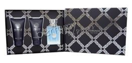 Versace pour Homme komplet (50 ml EDT & 50 ml SG & 50 ml ASB)