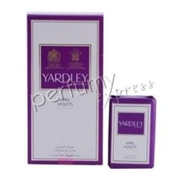 Yardley London April Violets Fiołek zestaw mydeł 3x100g