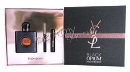 Yves Saint Laurent Black Opium komplet (50 ml EDP & Eye Pencil 0,8 g & Mascara Volum Effect 2 ml)