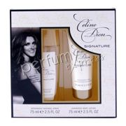 Celine Dion Signature komplet (75 ml DEO Atomizer & 75 ml BL)