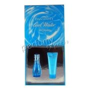 Davidoff Cool Water Woman komplet (50 ml EDT & 75 ml BL)