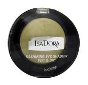 IsaDora Gleaming Eyeshadow Wet & Dry cień do powiek 84 Shiny Lime 2,1g