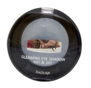 IsaDora Gleaming Eyeshadow Wet & Dry cień do powiek 86 Luminous Blue 2,1g