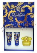 Versace Yellow Diamond Intense komlet (50 ml EDP & 50 ml BL & 50 ml SG)