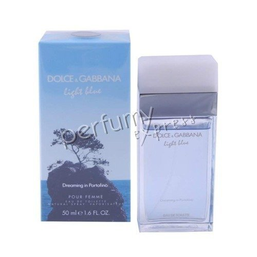 dolce gabbana light blue dreaming in portofino pour femme woda toaletowa 50 ml zapachy. Black Bedroom Furniture Sets. Home Design Ideas