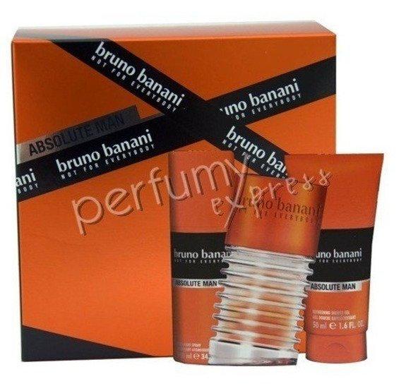 Bruno Banani Absolute Man komplet (50 ml EDT & 50 ml SG & 50 ml DEO)