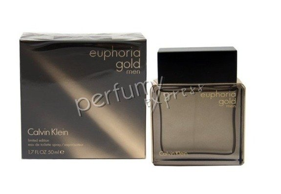 Calvin Klein Euphoria Gold Men woda toaletowa 50 ml
