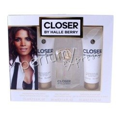 Closer by Halle Berry komplet (30 ml EDP & 75 ml SG & 75 ml BL)