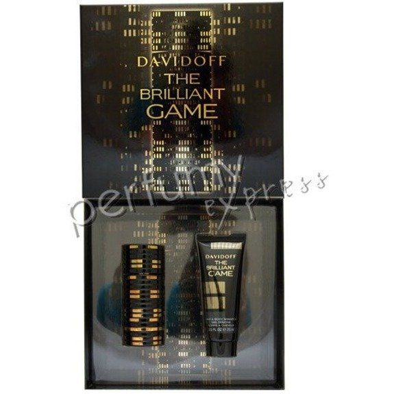 Davidoff The Brilliant Game komplet (60 ml EDT & 75 ml SG)