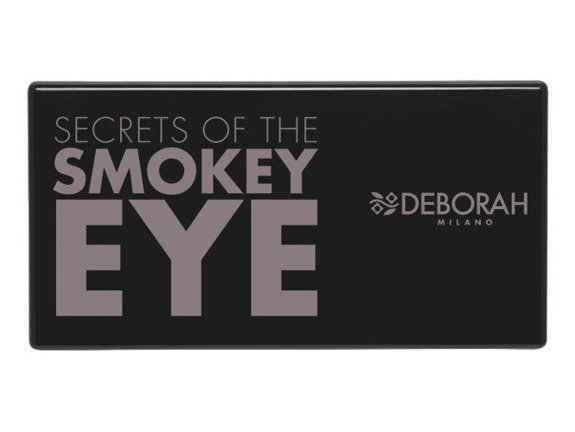 Deborah Secrets Of The Smokey Eye paleta sześciu cieni 3 Black 5g