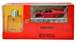 Ferrari Red komplet (125 ml EDT & model Ferrari Maisto)