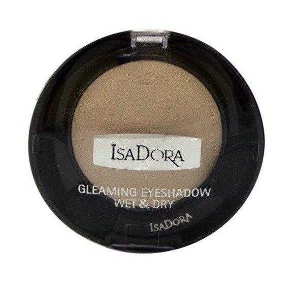 IsaDora Gleaming Eyeshadow Wet & Dry cień do powiek 91 Icy Vanilla 2,1g