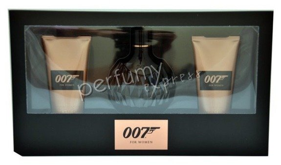 James Bond 007 for Woman (50 ml EDP & 50 ml SG & 50 ml BL)
