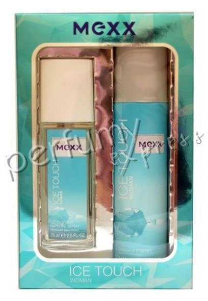 Mexx Ice Touch Woman komplet (75 ml DEO ATOMIZER & 150 ml DEO SPRAY)