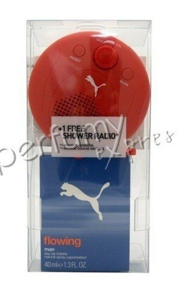Puma Flowing Man komplet (40 ml EDT & RADIO)