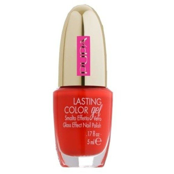 Pupa Lasting Color Gel lakier do paznokci 128 Spicy Fuchsia 5 ml