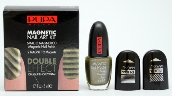 Pupa Magnetic Nail Art Kit zestaw do manicure 25 Khaki 5 ml