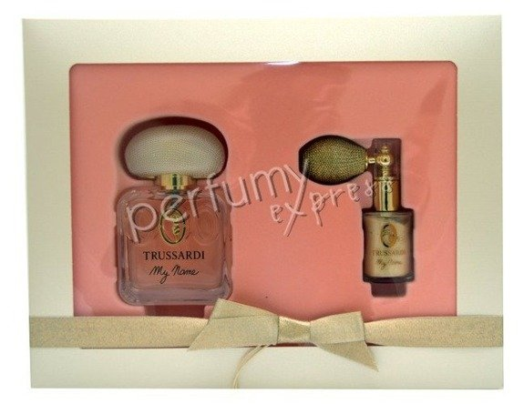 Trussardi My Name komplet (50 ml EDP & brokat do ciała 5g)