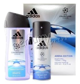 Adidas UEFA Champions League Arena Edition komplet (150 ml DEO & 250 ml SG)