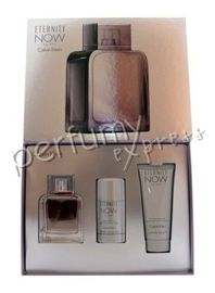 Calvin Klein Eternity Now for Men zestaw (100 ml EDT & 75 ml DEO stick & 100 ml SG)