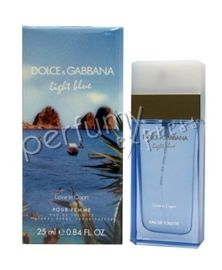 Dolce & Gabbana Light Blue Love in Capri woda toaletowa 25 ml