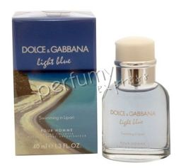 Dolce & Gabbana Light Blue Swimming in Lipari woda toaletowa 40 ml