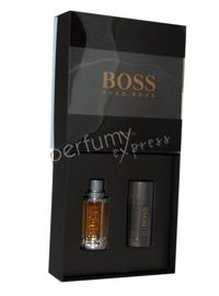 Hugo Boss The Scent komplet (50 ml EDT & 75 ml DEO Stick)