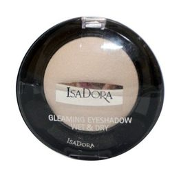 IsaDora Gleaming Eyeshadow Wet & Dry cień do powiek 80 White Silver 2,1g