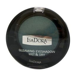 IsaDora Gleaming Eyeshadow Wet & Dry cień do powiek 89 Golden Petrol 2,1g