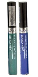 IsaDora Lash Color waterpfoof mascara kolorowy tusz do rzęs 52 Aqua Blue 7 ml