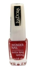 IsaDora Wonder Nail supertrwały lakier do paznokci 184 Winter Red 6 ml