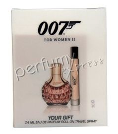 James Bond 007 for Woman (30 ml EDP & 7,4 ml  EDP Roll-on)