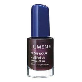 Lumene Gloss&Care Nail Polish,lakier do paznokci 11 Winter Joy, 5 ml