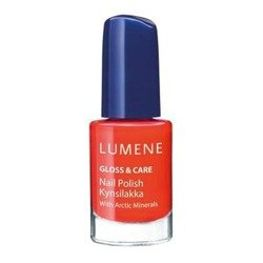 Lumene Gloss&Care Nail Polish, lakier do paznokci 9 Summer Glow, 5 ml