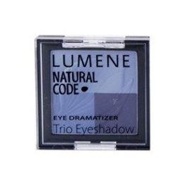 Lumene Natural Code Eye Dramatizer Trio Eyeshadow, potrójne cienie do oczu 10 Darling 4,3g
