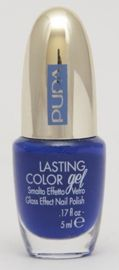 Pupa Lasting Color Gel lakier do paznokci 062 Shocking Blue 5 ml kolekcja Navy Chic