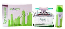 Sex in the City Kiss komplet (100 ml EDP & 50 ml DEO)